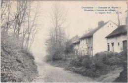 22751g CHAUSSEE De WAVRE - ENTREE Du VILLAGE - Overyssche - 1908 - Overijse