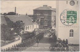 22781g RINGKJOBING - Defilé - 1914 - Danemark