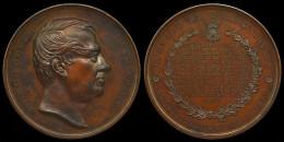 M01668 BARON JULES D´ANETHAN - HOMMAGE De RECONNAISSANCE THIELT 1870 (156 Gr) Son Profil Au Revers - Professionali / Di Società