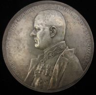 M01690 MAURICE VAN VOLLENHOVEN MINISTRE De SM REINE Des PAYS-BAS - BRUXELLES 1914-17 (118 Gr) Armoiries Au Revers - Professionals/Firms