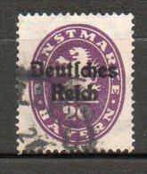 BAVIERE  (service)  20p Violett 1920  N°64 - Bayern