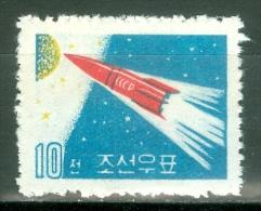 Korea DPR 1961 Soviet Venus Rocket MNH** - Lot. 2810 - Space