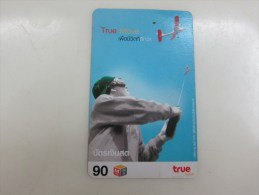 Prepaid Phonecard,remote Controlled Aircraft Model,used - Thaïlande