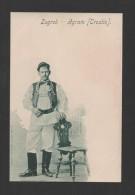 POSTCARD Year 1900 ZAGREB AGRAM CROATIE CROATIA ETHNIC COSTUMES Xx - Croatie