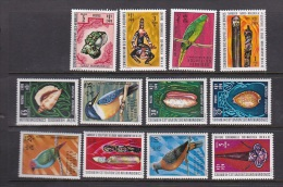 New Hebrides 1972 Definitives French Set MNH - Nouvelles-Hébrides