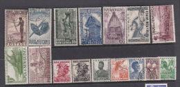Papua New Guinea 1952 Definitves Used Set - Papua New Guinea
