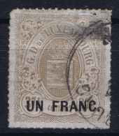 Luxembourg: 1872 Mi Nr 25, Yv 24  Used /obl,