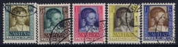 Luxembourg: 1930 Mii Nr 227 - 231 , Yv  226 - 230 Used Obl