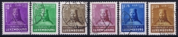 Luxembourg: 1935 Mii Nr 284 - 289 , Yv  276 - 281 Used Obl