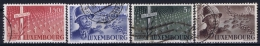 Luxembourg: 1947 Mii Nr 423 - 426  Used Obl