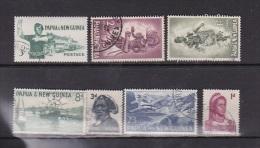 Papua New Guinea 1961-63 Pictorials Used Set - Papua New Guinea
