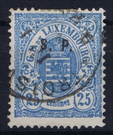 Luxembourg: Service Mi. Nr. 33 I, Yv Nr 42  Used Signed/ Signé/signiert/ Approvato