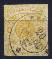 Luxembourg: 1859, Mi Nr 5 Yv Nr 5 Used Obl
