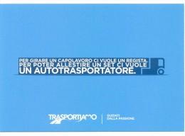 PROMOCARD N°  10273   TRASPORTIAMO GUIDATI DALLA PASSIONE - Advertising