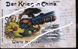 DER KRIEG IN CHINA  1900  TOP CARTE              IMPERATRICE TS EN - HI BOXERS DE 19000