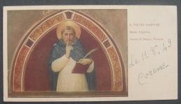 IMAGE PIEUSE Année1949:  SAINT PIERRE MARTYR  HOLY CARD - SANTINO S. PIETRO MARTIRE - Images Religieuses