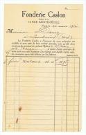 FONDERIE CASLON à PARIS 1912 - 1900 – 1949