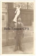 87 - LIMOGES - Les petits M�tiers de la Rue - MARCHAND de STATUETTES +++ RARE / TOP CPA / Non r�f�renc�e sur Argus Carr�