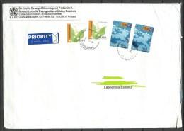 FINNLAND Finland Suomi 2002 Cover To Estonia Estland - Lettres & Documents