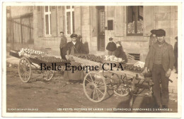 87 - LIMOGES - Les petits M�tiers de la Rue - Les ESPAGNOLS, Marchands d'ORANGES +++ RARE / TOP CPA / Nouvelles Galeries