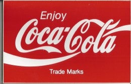 COCA COLA -ADESIVO PUBBLICITARIO - Coca-Cola