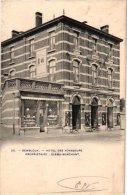 NAMUR   1oude Postkaart HOTEL  Gembloux Gemblours  Hôtel Des Voyageurs Slama Marchant  1908 Photo BERTELS - Gembloux