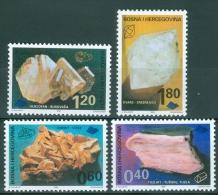 Bosnia And Herzegovina 1999 Minerals MNH** - Lot. 2833 - Minerali