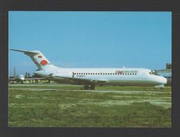 Postcard AIRPLANE DC-9 AIR MARGARITA - CARIBBEAN AIRCRAFTS AVIONES AVIONS AVIÕES - 1946-....: Moderne