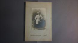 61 - ALENCON - Photo Sur Carton - Enfant - Photographie St-Blaise - A. PAVIE - Orte