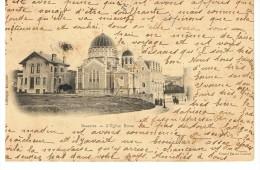 BIARRITZ - L´ Eglise Russe - Grand Bazar Central - Circulé 1903 - Dos Simple - Biarritz