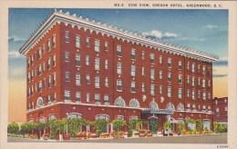 Side View Oregon Hotel Greenwood South Carolina - Greenwood