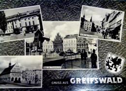 GERMANY - GREIFSWALD MOSAIC  PHOTOCARD - Greifswald