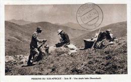 MISSION DU SUD AFRIQUE 1952 - Une Simple Halte (Basutoland), Sonderstempel, 12 F Frankierung - Lesotho