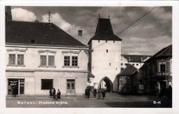 BEROUN (Böhmen) 1940 - Prazska Brana, Fotokarte Stempel Beroun - Böhmen Und Mähren