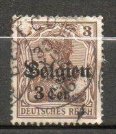 BELGIQUE (Occupatio)   3c S 3p Brub 1916-18 N°11 - WW I
