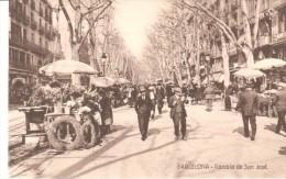 POSTAL     BARCELONA  - RAMBLA SAN JOSÉ - Barcelona