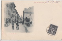 BARCELONNETTE LA GRAND RUE PAPE ASTOIN - Barcelonnette