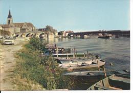 PONT-SUR-YONNE (Yonne)  - 89 - Les Bords De L'Yonne. - Pont Sur Yonne