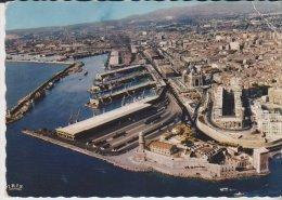 Marseille Vue Aérienne Du Port Le Bassin De La Joliette - Joliette, Zone Portuaire