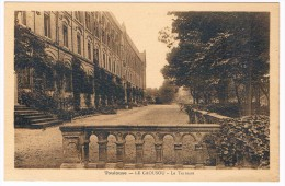 Cpa TOULOUSE 31 école Privée Du CAOUSOU Rue Camille PUJOL La Terrasse écrite Pour ROQUEFORT DES CORBIERES AUDE - Toulouse