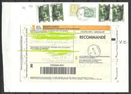 FINNLAND Finland Suomi 1999 Registered Cover To Estonia Estland Tartu Dorpat - Lettres & Documents