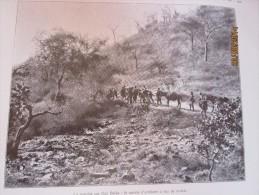 1912  Goz Beida  Le Convoi D Artillerie     Dar Sila  Darfour  Tchad - Tchad