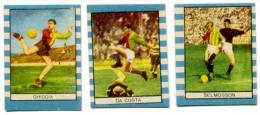 095> ROMA : Serie Di 3 Figurine Calciatori STELLA 1959 = Nuove - Trading Cards