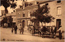 NAMUR 6CP Han Sur Lesse Attelage Café Du Centre Château Des Grottes Nels 8n°214 Onjour  Moulin 1904 - Belgio