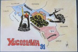 Yugoslavia, War, Crisis In Yugoslavia 1991 - Yougoslavie