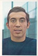 Harry Depireux België Kaartje Chromo (5 X 7cm) Mexico 1970 Coupe Du Monde Voetbal Football Soccer Voetballer - Trading Cards