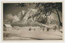 Ehrwald Tirol Zugspitzmassiv Feldpost 1942 Bahnpost Innsbruck  Zug 1350