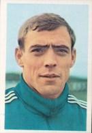 Raoul Lambert België Kaartje Chromo (5 X 7cm) Mexico 1970 Coupe Du Monde Voetbal Football Soccer Voetballer - Trading Cards