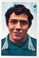 Jean Plaskie België Kaartje Chromo (5 X 7cm) Mexico 1970 Coupe Du Monde Voetbal Football Soccer Voetballer - Trading Cards