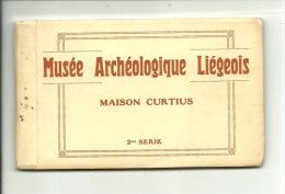 LIEGE - Musée Archéologique Liégeois - 2ème Série - Carnet De 12 Cartes Détachables - Complet - Luik